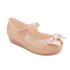 Mini Melissa Toddlers' Ultragirl Silk Bow Ballet Flats - Nude: Image 2