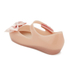 Mini Melissa Toddlers' Ultragirl Silk Bow Ballet Flats - Nude: Image 4