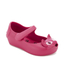 Mini Melissa Toddlers' Ultragirl Kitty 16 Ballet Flats - Bright Pink: Image 2