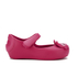 Mini Melissa Toddlers' Ultragirl Kitty 16 Ballet Flats - Bright Pink: Image 1