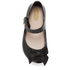 Mini Melissa Toddlers' Ultragirl Silk Bow Ballet Flats - Black: Image 3