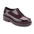 Melissa Women's Grunge Chunky Lace Up Shoes - Plum: Image 2