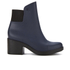 Melissa Women's Elastic Heeled Ankle Boots - Blue: Image 1