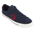 Converse CONS Men's Star Player Canvas Ox Trainers - Obsidian/Red Block/Black: Image 2
