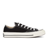 Converse Chuck Taylor All Star '70 Ox Trainers - Black: Image 1