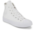 Converse Chuck Taylor All Star '70 Vintage Canvas Hi-Top Trainers - White Monochrome: Image 2