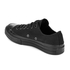 Converse Chuck Taylor All Star '70 Vintage Canvas Low Top Trainers - Black Monochrome: Image 4