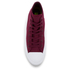 Converse Chuck Taylor All Star II Hi-Top Trainers - Deep Bordeaux/White/Navy: Image 3