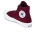 Converse Chuck Taylor All Star II Hi-Top Trainers - Deep Bordeaux/White/Navy: Image 4