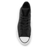 Converse Women's Chuck Taylor All Star Sting Ray Leather Hi-Top Trainers - Black/Black/White: Image 3