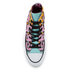 Converse Chuck Taylor All Star Warhol Hi-Top Trainers - Lichen/Orchid Smoke/White: Image 3