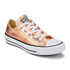 Converse Women's Chuck Taylor All Star Ox Trainers - Metallic Sunset Glow/White/Black: Image 2