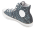 Converse Men's Chuck Taylor All Star Denim Woven Hi-Top Trainers - Polar Blue/White/Dolphin: Image 4