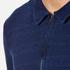 Oliver Spencer Men's Faro Jersey Shirt - Kobe Indigo: Image 5