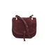 Elizabeth and James Women's Zoe Saddle Bag - Bordeaux: Image 1