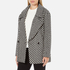 Maison Scotch Women's Boxy Fit Short Wool Jacket - Multi: Image 2