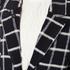 Maison Scotch Women's Bonded Wool Coat In Checks & Solids - Multi: Image 4