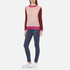 Maison Scotch Women's Fluffy Crew Neck Jumper - Multi: Image 4