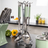Morphy Richards 975052 Accents 5 Piece Tool Set - Green: Image 3