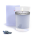 Red Flower Icelandic Moonflower Petal Top Candle: Image 1