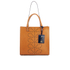 Orla Kiely Women's Willow Box Leather Tote Bag - Tan: Image 1