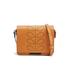 Orla Kiely Women's Mini Ivy Leather Cross Body Bag - Tan: Image 1