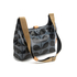Orla Kiely Women's Linear Stem Print Laminated Mini Sling Bag - Midnight: Image 3