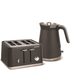 Morphy Richards Aspect Steel 4 Slice Toaster and Kettle Bundle - Titanium: Image 1