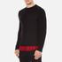 McQ Alexander McQueen Men's Recycled T-Shirt - Dark Black/Red Tartan: Image 2