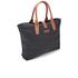 Barbour Women's Wax Shopper Bag - Navy: Image 3