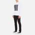 Alexander Wang Men's Barcode Logo Long Sleeve T-Shirt - White: Image 4