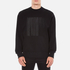 Alexander Wang Men's Embroidered Barcode Logo Sweatshirt - Black: Image 1