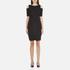 MICHAEL MICHAEL KORS Women's Structured Cut Out Dress - Black: Image 1