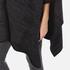 MICHAEL MICHAEL KORS Women's Twill Blanket Poncho - Grey: Image 4