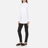 MICHAEL MICHAEL KORS Women's Cotton White Bib Shirt - White: Image 4
