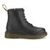 Dr. Martens Kids' Delaney Leather Lace Boots - Black: Image 1