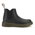 Dr. Martens Kids' Banzai Leather Chelsea Boots - Black: Image 1