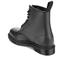 Dr. Martens Men's 1460 Pebble Leather 8-Eye Boots - Black: Image 4