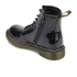 Dr. Martens Kids' Delaney Patent Lamper Leather 8-Eye Lace Up Boots - Black: Image 4