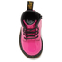 Dr. Martens Toddlers' Brooklee B Patent Lamper Leather Lace Up Boots - Hot Pink: Image 3