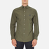 Polo Ralph Lauren Men's Long Sleeve Poplin Shirt - Rustic Sage: Image 1