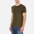 Polo Ralph Lauren Men's Short Sleeve Crew Neck Custom Fit T-Shirt - Defender Green: Image 2