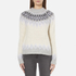 Samsoe & Samsoe Women's Vaga O Neck Jumper - Clear Cream: Image 1