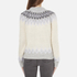 Samsoe & Samsoe Women's Vaga O Neck Jumper - Clear Cream: Image 3
