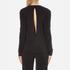 Samsoe & Samsoe Women's Shiga Long Sleeve Top - Black: Image 3