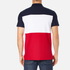 Lacoste Men's Short Sleeve Bold Stripe Polo Shirt - Navy Blue/White/Red: Image 3