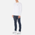 Lacoste Men's Long Sleeved Crew Neck T-Shirt - White: Image 4