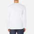 Lacoste Men's Long Sleeved Crew Neck T-Shirt - White: Image 3