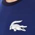 Lacoste L!ve Men's Large Logo Crew T-Shirt - Jazz/White/Navy Blue: Image 5