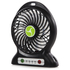 iTek I40001 Rechargeable 4 Inch Desk Fan - Black: Image 2